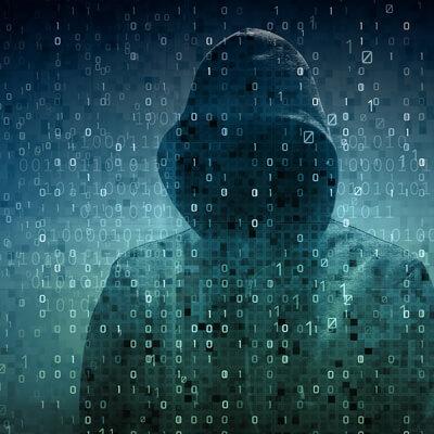 Hackers piratant un compte bancaire
