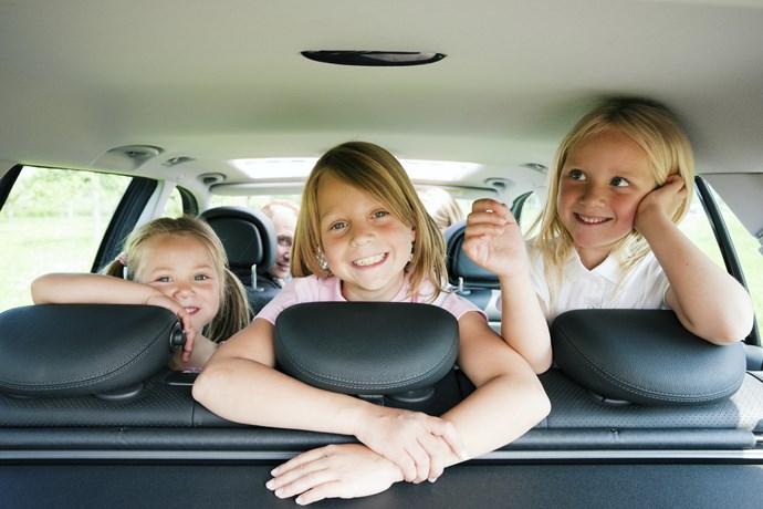 Voyager avec des enfants en voiture
