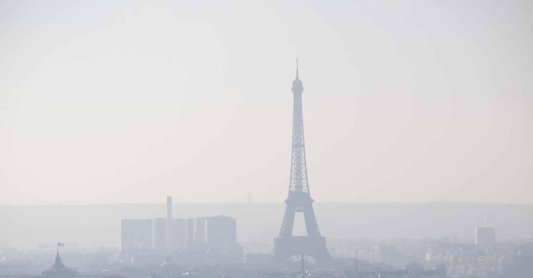 Paris pollution de l'air